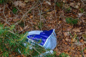 Afval in de natuur
