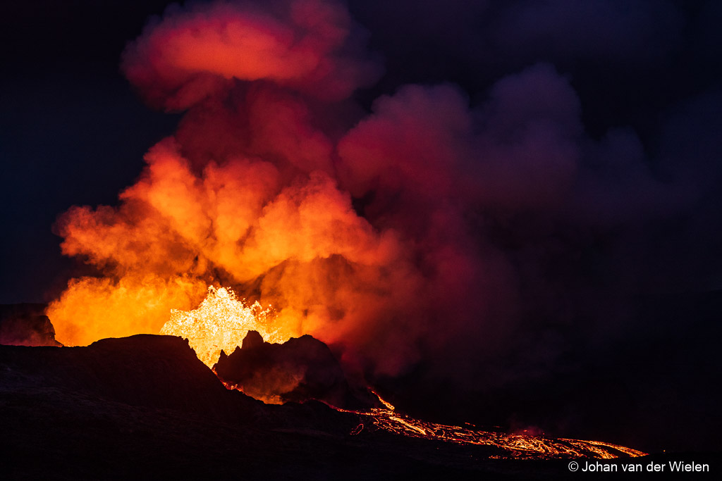 vulkaan op IJsland