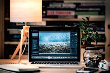 Computer voor fotobewerking